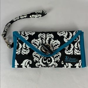 Handbags - Clear Pocket Wristlet